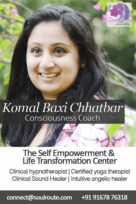 Komal Chhatbbar: Mystic Lotus: Hypnotherapy: Mumbai